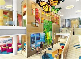 Interior Design of Golisano Childrens Hospital to Be Soothing