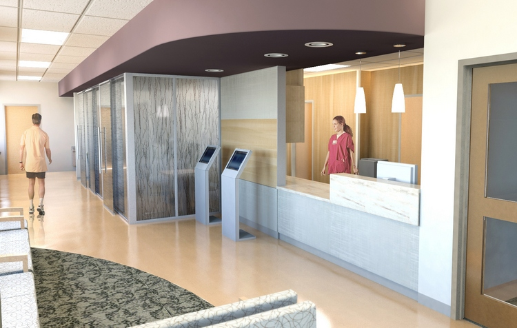 Veterans Affairs Medical Center, Women's Clinic, Philadelphia, Pa. (Array Architects)