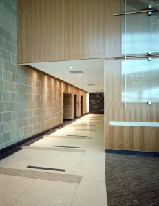 Parkland Health and Hospital System Simmons Ambulatory Surgery Center Lobby Hallway.