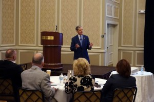 Joel Allison, CEO of Baylor Scott & White Health, spoke at Duke Realty's recent Healthcare Symposium, sharing ideas for how providers can deliver more value in the healthcare reform environment.