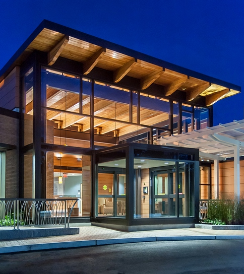 Top 90 Healthcare Architecture Firms Building Design: Marlborough Hospital Cancer Center Receives Top Honors