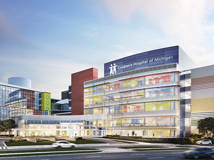 Construction Begins for Children's Hospital of Michigan ...
