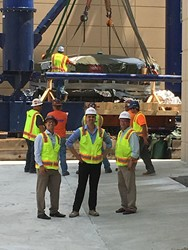 Gilbane Building Company's team preps for the new Cyclotron.