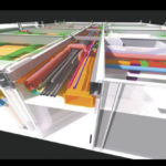 After-hours scanning can be performed to eliminate disruption to hospital operations. Point clouds can be combined and converted into BIM models consisting of existing MEP and structural conditions. These models help coordinate and inform the design.