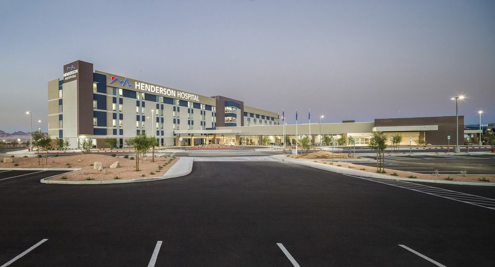 Henderson Hospital Opens In Las Vegas Medical