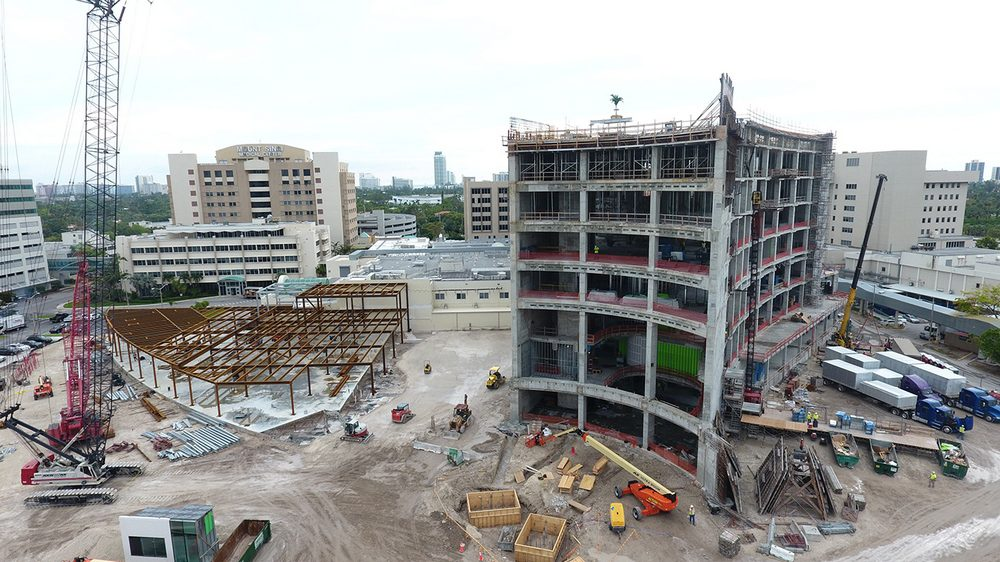 Mount Sinai Medical Center Surgical Tower Tops Out | Medical