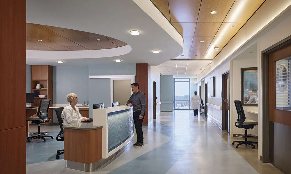 Hospital Corridor Lighting Design: North Carolina Heart & Vascular Hospital Fit For Today