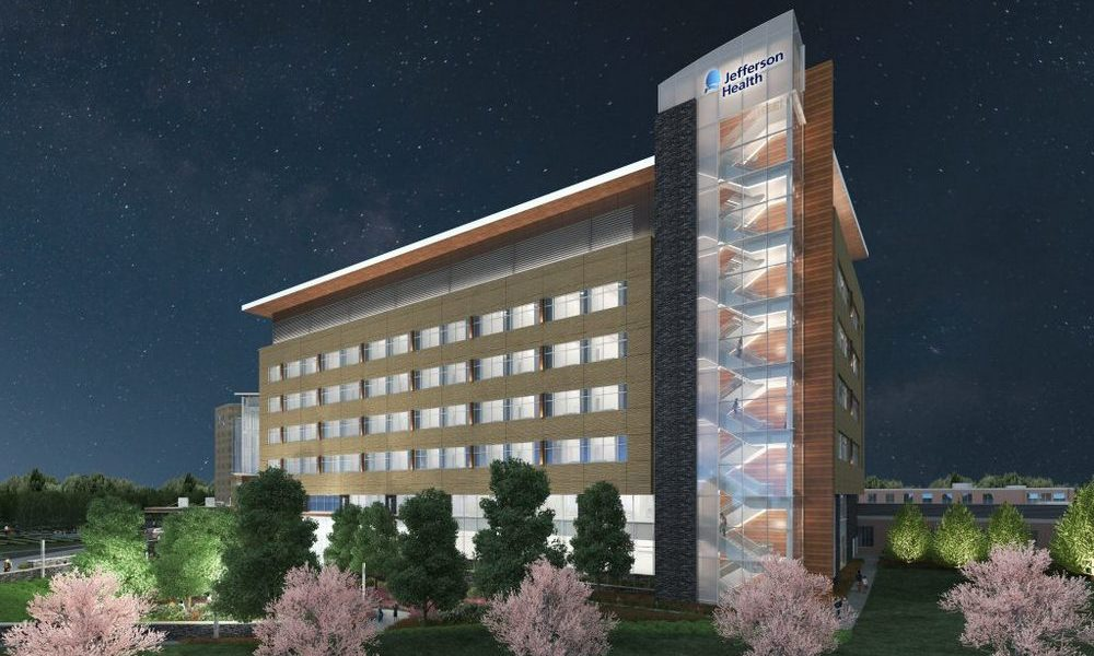 Phase Ii Expansion At Jefferson Health Cherry Hill Hospital Underway