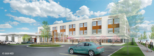Mary Free Bed Rehabilitation Hospital Breaks Ground In Saginaw Medical Construction And Design