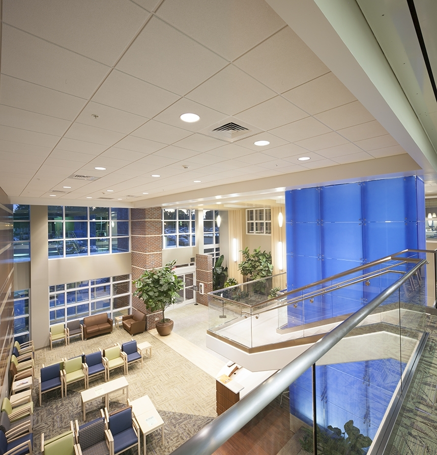 Baptist Health Over the railing view