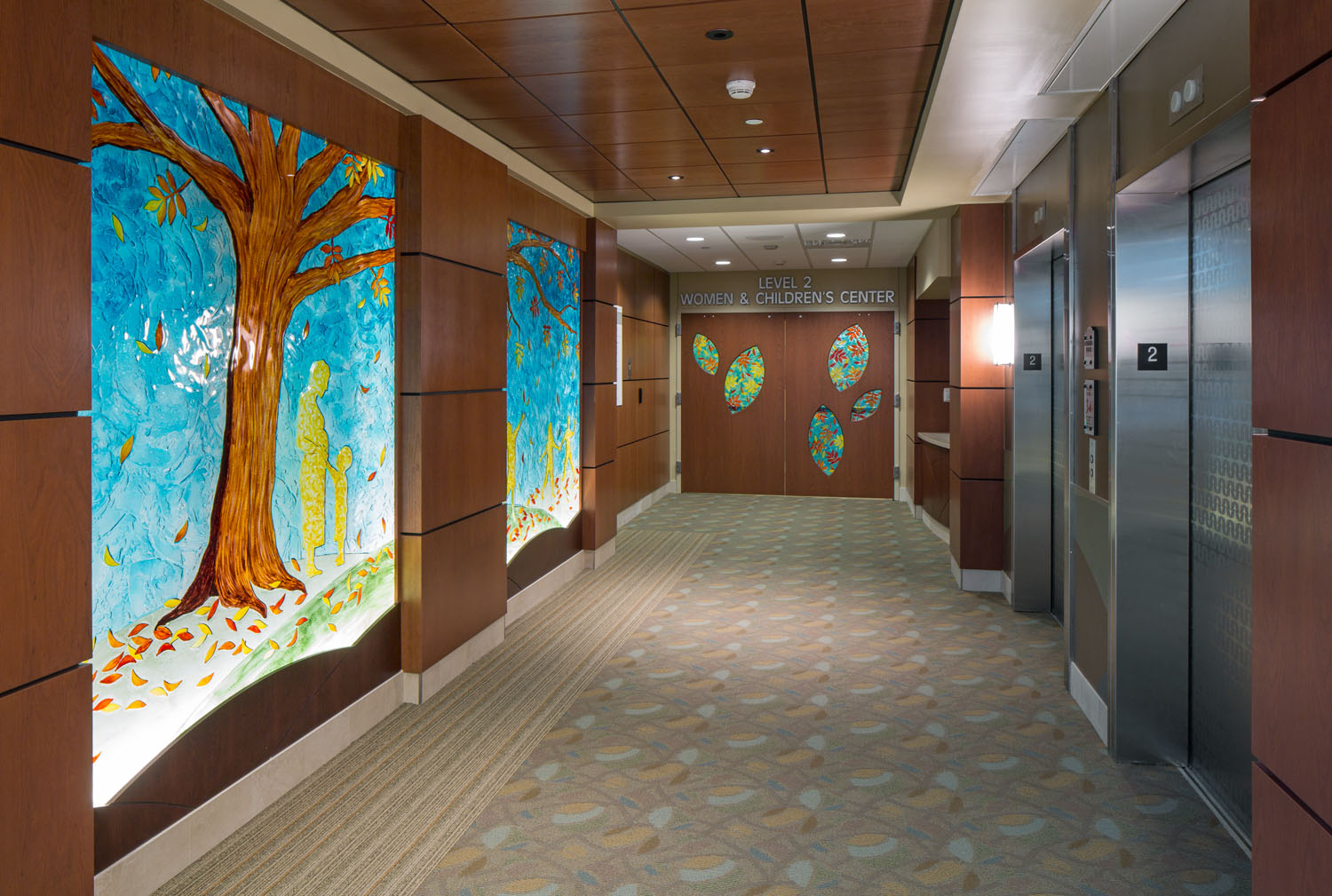 Wentworth Douglass Hospital Opens Four Story Addition New