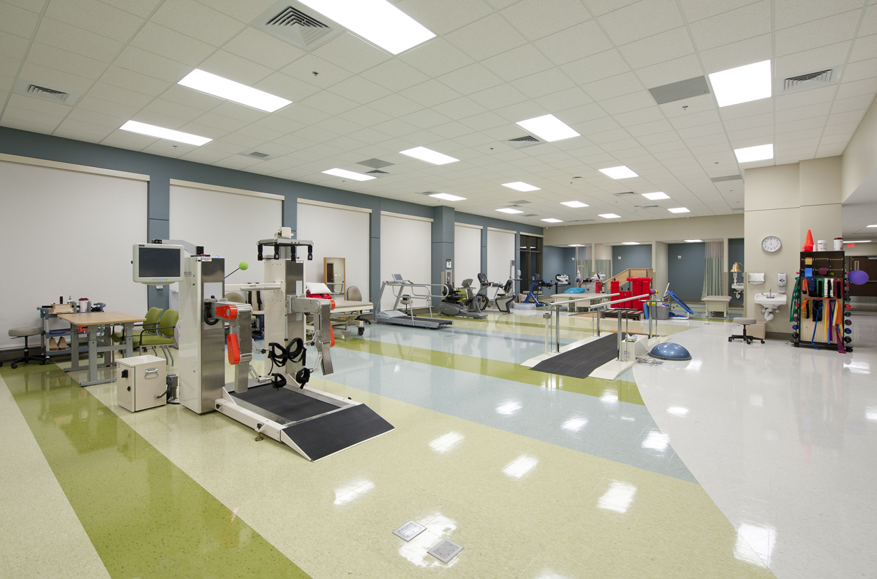 Gs Floor Designers : Gs p designed healthsouth rehab hospital opens medical