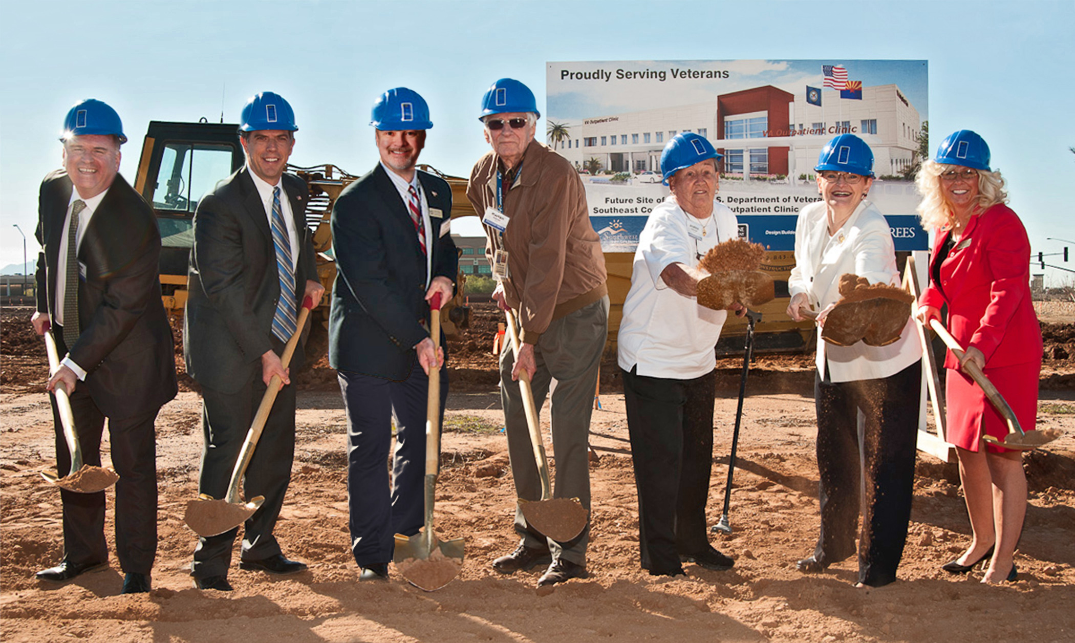 McShane - VA-Gilbert Groundbreaking