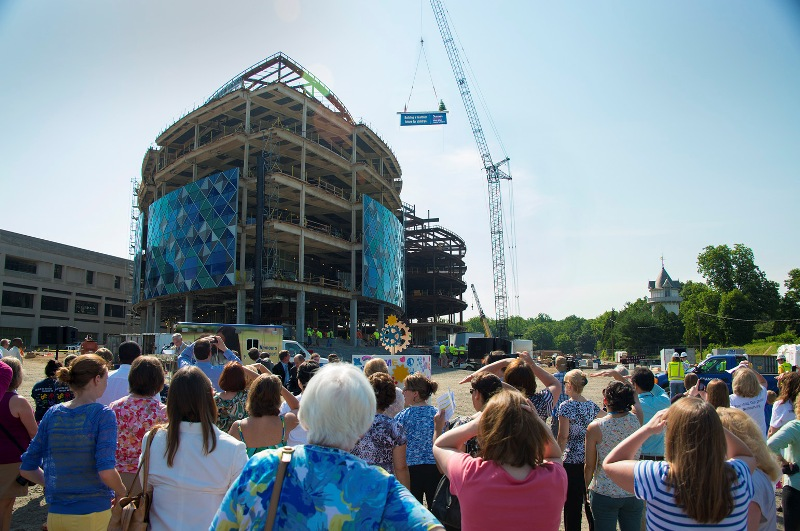 Nemours AIDHC Topping Out