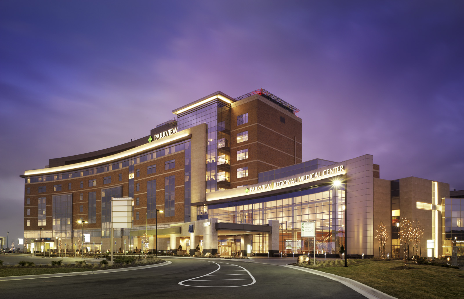 Hks designed 536 million parkview regional medical center for The parkview